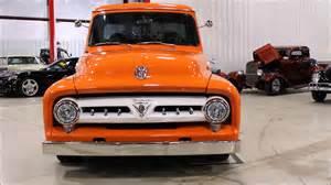 Orange Ford 1953 Ford F100 Orange