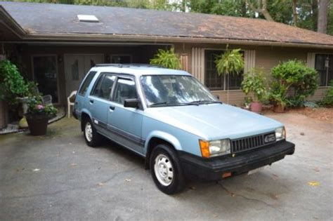 1984 toyota tercel 4wd buy used 1984 toyota tercel sr5 4wd in clarkston