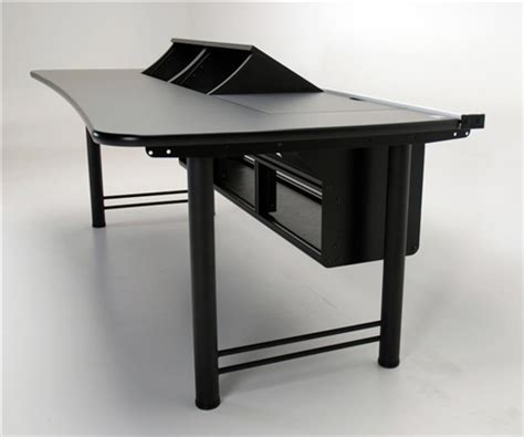 Rackmount Desk by Pc Transform Console Desk With Rackmount Bays