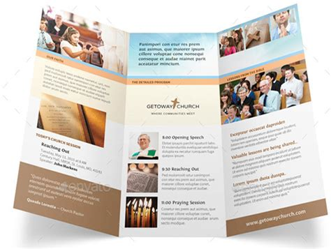 10 popular church brochure templates design free psd