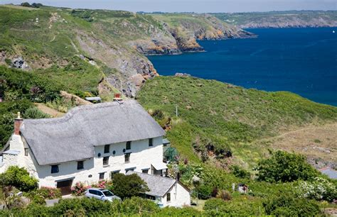 Cottages Lizard Cornwall by Thatched Cottage Church Cove Cornwall Guide