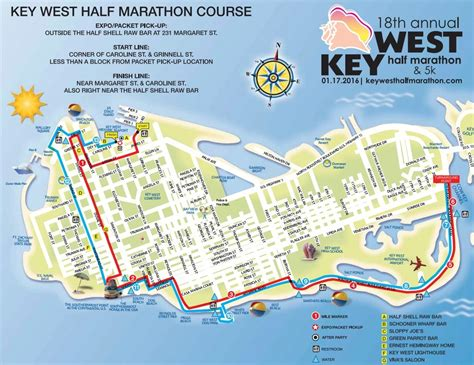marathon key florida map best half marathons in florida key west half marathon