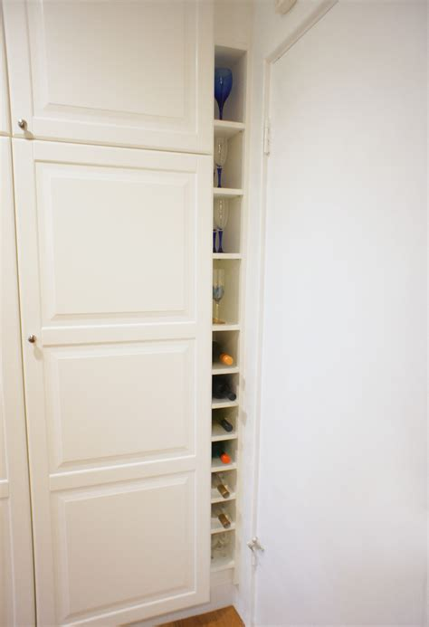 white wine rack cabinet ikea how to combine ikea items to build your own wine rack