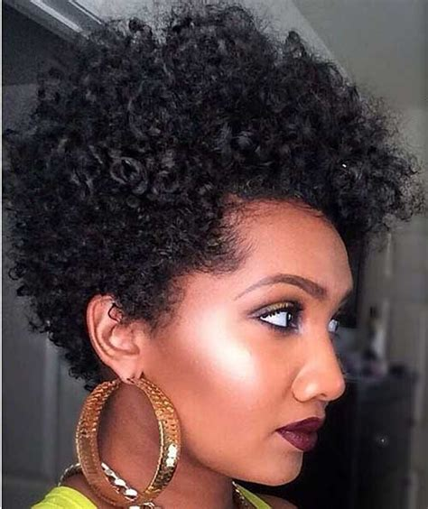 natural tapered bob short curly tapered natural haircuts i love the hair