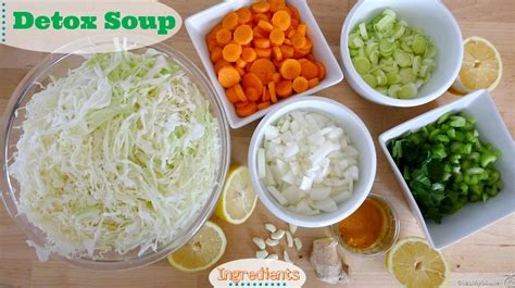Detox Vegetable Soup Calories by Healthy Detox Soup Recipe Dishmaps