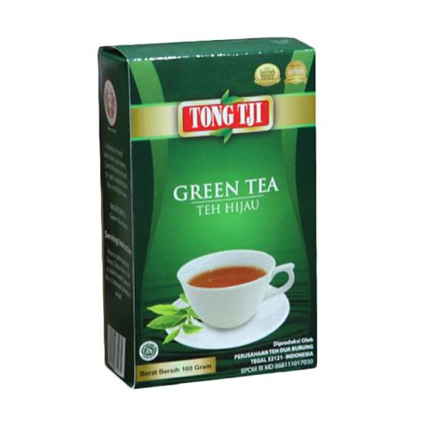 Teh Tong Tji Green Tea jual tong tji green tea 100 g 3 pcs harga