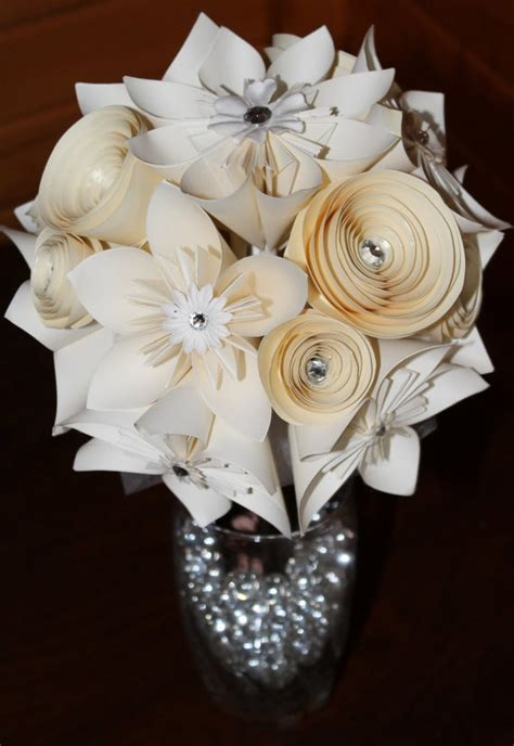 Origami Flowers Wedding - 25 best ideas about wedding flowers on