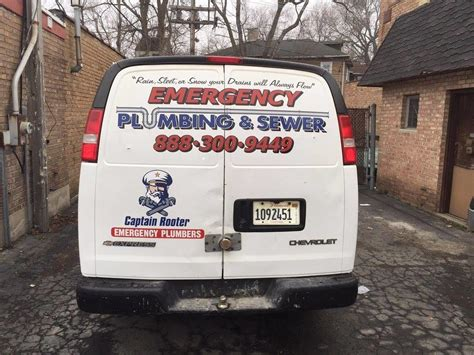 captain rooter emergency plumbers chicago chicago