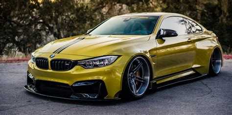 stanced bmw m4 accuair x vorsteiner widebody bmw m4 stanced rides