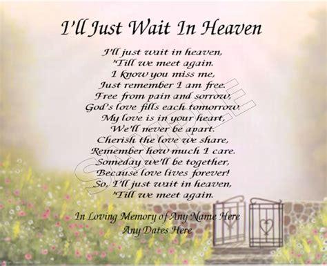 in heaven poem a s letter from heaven letter from heaven poem