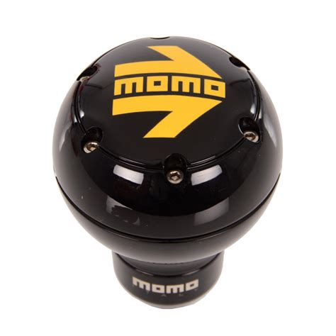 Momo Gear Knobs by Momo Sk51 Gear Knob Black