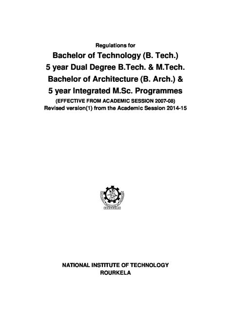 Nit Rourkela Mba Fee Structure by Nit Rourkela Admission Courses Ranking Placements