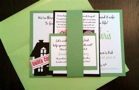 home improvement shower invitations invitations ideas