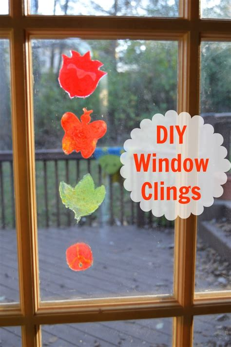 window clings crayola kit for diy window clings family focus
