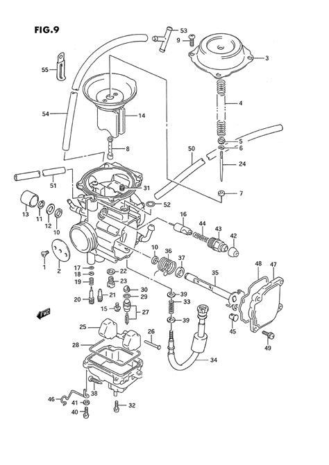 Suzuki Quadrunner 500 Carburetor Diagram