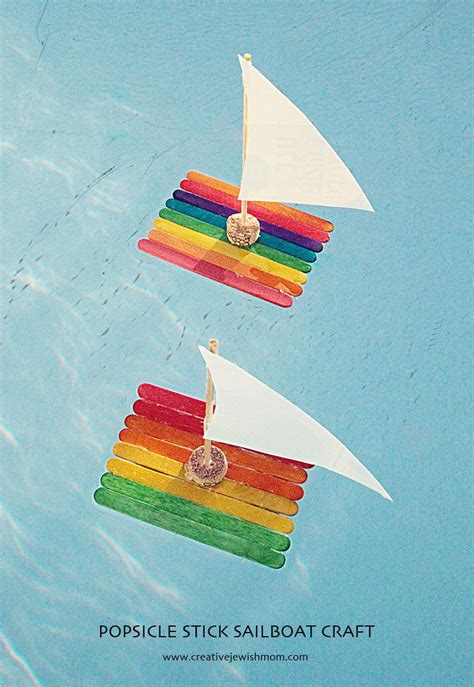 crafts for to make popsicle stick sailboat craft for creative
