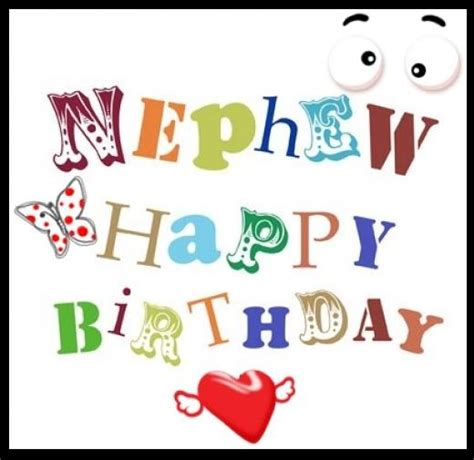 Happy Birthday Nephew Quotes Happy Birthday Nephew Quotes For Facebook Quotesgram