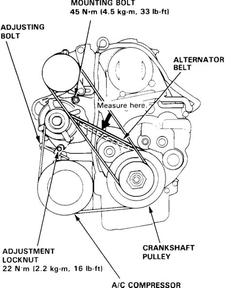 2004 honda accord serpentine belt how to replace the serpentine belt in a honda accord