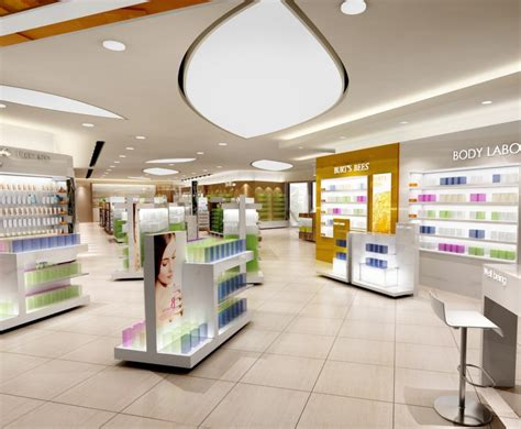 store interior designer cosmetics shop interior layout