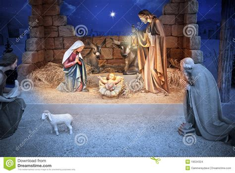 christmas nativity jesus birth stock photo image 19534324