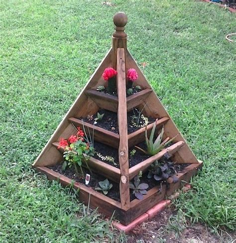 Strawberry Pyramid Planter by How To Make A Strawberry Pyramid Planter The Owner Builder Network