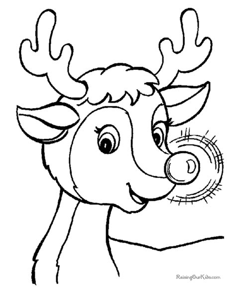 Rudolph Printable Coloring Pages search results for reindeer clouring page calendar 2015