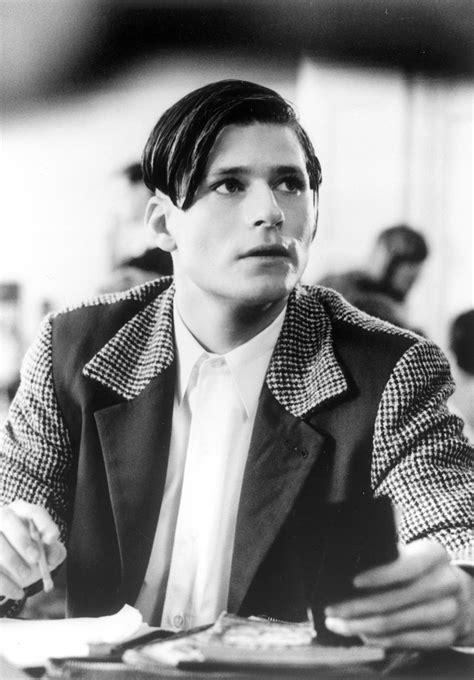 crispin glover haircut crispin glover as george mcfly chicle pop diary by maurice