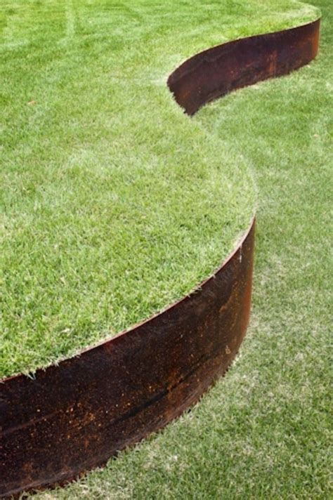 buy corten steel edging landscape features the pot company
