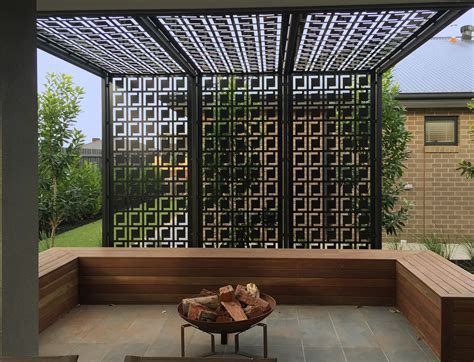 pergola screen ideas pergola privacy screen made using decorative screens these are qaq decorative screens panel s