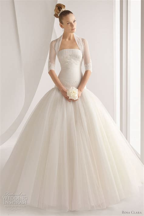 More Wedding Dresses by Rosa Clara 2012 Wedding Dresses Color Bridal Gowns And