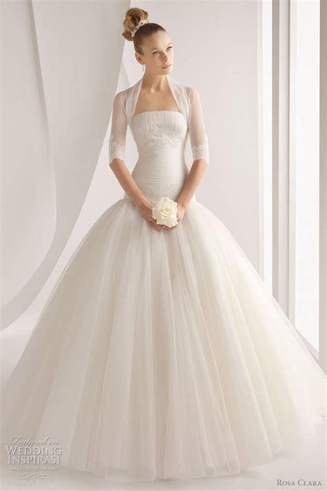 wedding dress 2012 rosa clara 2012 wedding dresses color bridal gowns and more wedding inspirasi