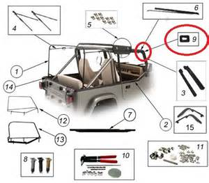 jeep tj soft top hardware yj oem softtop hardware jpg photo by nathanator 2007
