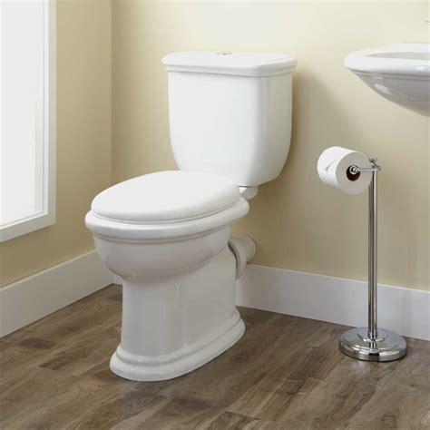 Kennard Dual Flush European Rear Outlet Toilet Two Piece Bathroom Grab Bars Height