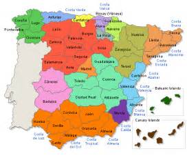 Map If Spain by Maps Of Spain Spanish Cities Spanish Provinces Spanish