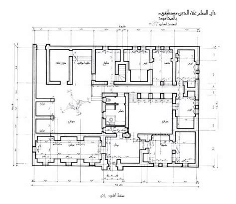 Castle Floor Plan Generator by Collections Architect S Archives Hassan Fathy Alaa