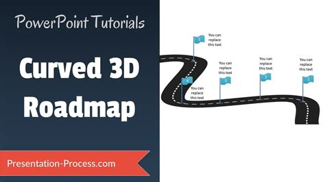 make a road map how to create 3d roadmap 3d powerpoint series