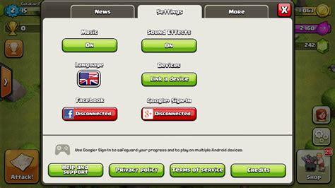 membuat game coc cara membuat multi akun game clash of clans coc dalam