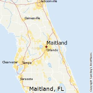 best places to live in maitland florida