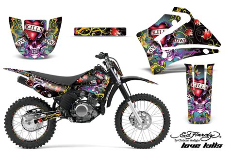motocross bike graphics yamaha ttr125 2000 2016 dirt bike graphics kit