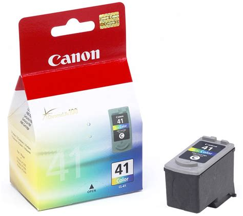 Tinta Canon Pixma 41 Colour canon cl 41 cartucho color 0617b001 cartucho canon original