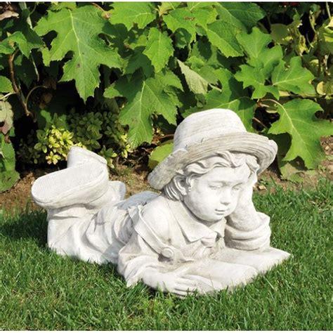 Statue Da Giardino In Cemento by Bimbo Che Legge Produzione Statue Da Giardino