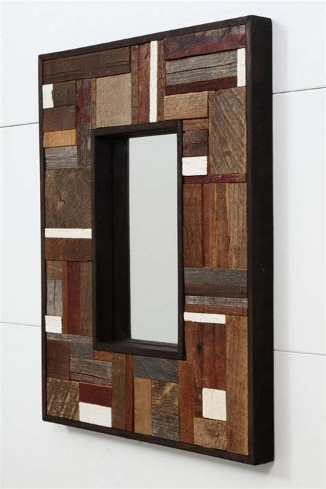 ideas to decorate your home with recycled wood this modern wall art ideas from recycled wood brings nature
