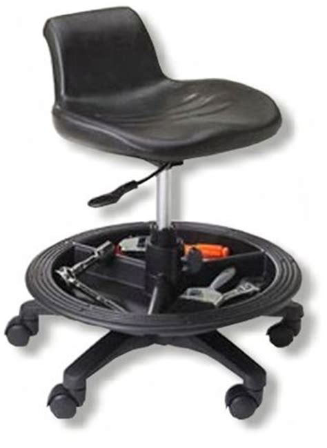 Work Stool With Wheels by Okoffroad Accessories Shop Stool