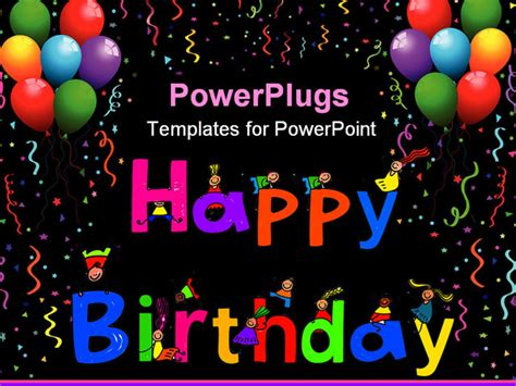 happy birthday powerpoint template the gallery for gt happy birthday background powerpoint