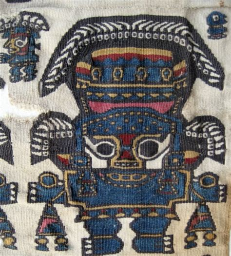 57195 Aryanti Tunic lambayeque style textiles in the ethnologisches museum berlin