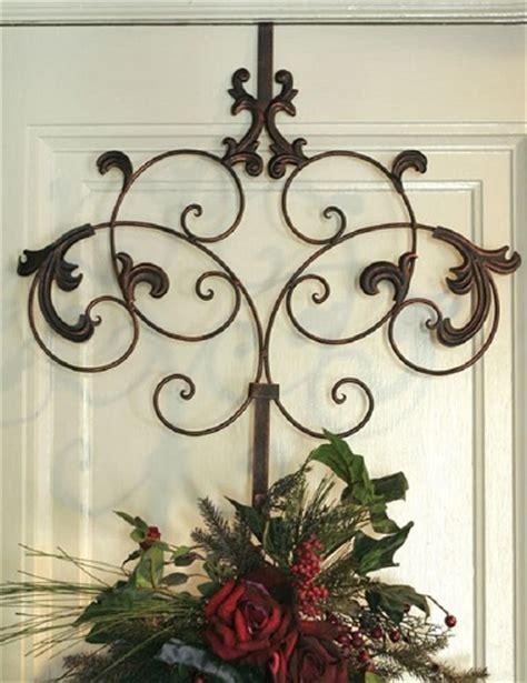 decorative door wreath hangers decorative metal door wreath hanger hook over door welcome