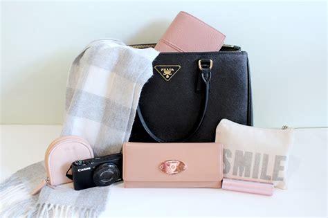 In The Bag what s in my bag antoinette