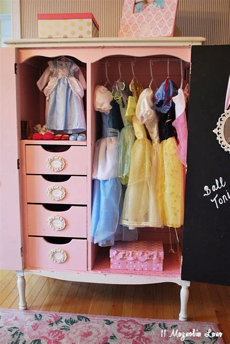 dress up armoire operation organization repurpose an old armoire to hold