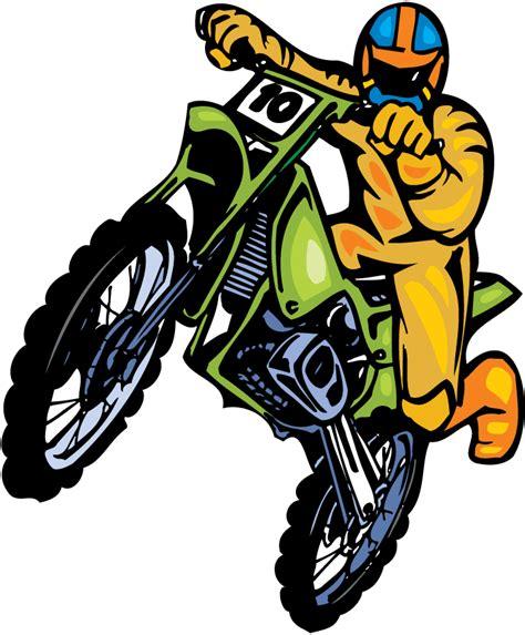 Motocross Motorrad Comic by Logo Motocross Gif Clipart Best