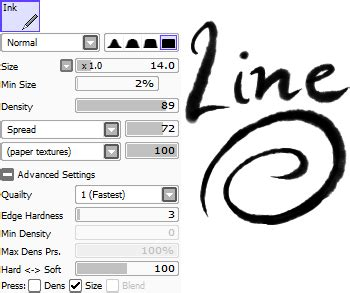 paint tool sai ink pen easy paint tool sai sai brush settings martbles aryll